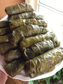 I made dolmades for Fourth of July.